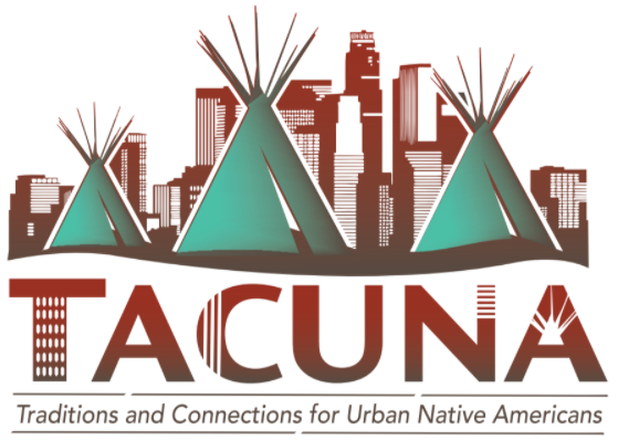 Traditions and Connections for Urban Native Americans (TACUNA) Logo