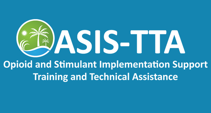Opioid and stimulant implementation support training and technical assistance